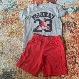 Nike Dri-Fit Boys T-shirt & Shorts set